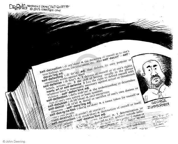 Cartoonist John Deering  John Deering's Editorial Cartoons 2013-11-21 destruction
