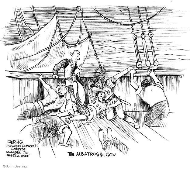 John Deering  John Deering's Editorial Cartoons 2013-11-26 bad