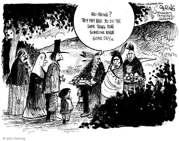 John Deering  John Deering's Editorial Cartoons 2013-11-28 assistance