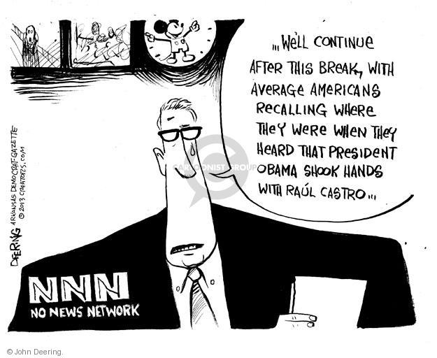 John Deering  John Deering's Editorial Cartoons 2013-12-12 news media