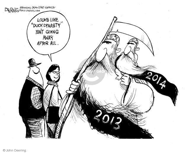 Cartoonist John Deering  John Deering's Editorial Cartoons 2013-12-28 television program