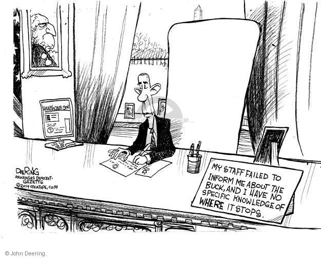 Cartoonist John Deering  John Deering's Editorial Cartoons 2014-01-03 editorial staff