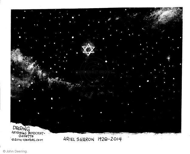 John Deering  John Deering's Editorial Cartoons 2014-01-14 Israel