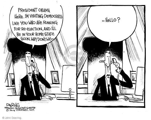 John Deering  John Deering's Editorial Cartoons 2014-01-16 midterm election