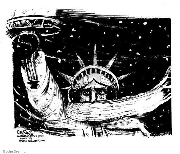 John Deering  John Deering's Editorial Cartoons 2014-01-24 New York