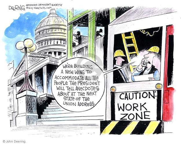 John Deering  John Deering's Editorial Cartoons 2014-02-03 state politician