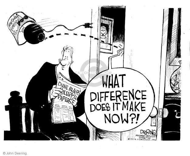 John Deering  John Deering's Editorial Cartoons 2014-02-14 Bill Clinton