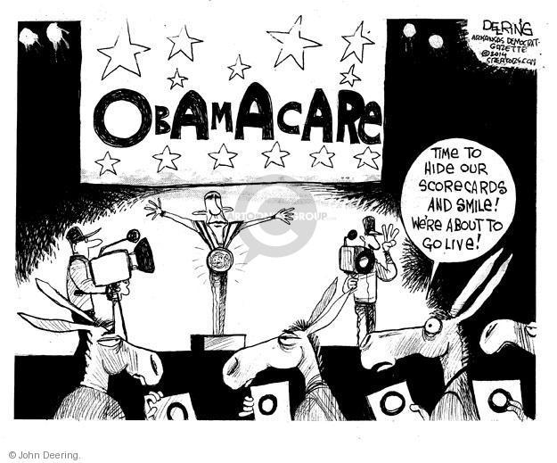 Cartoonist John Deering  John Deering's Editorial Cartoons 2014-02-18 insurance