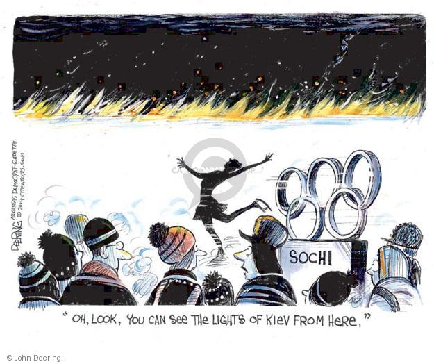 John Deering  John Deering's Editorial Cartoons 2014-02-19 winter Olympics