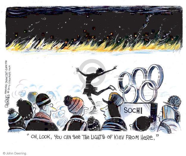 John Deering  John Deering's Editorial Cartoons 2014-02-19 2014 Olympics