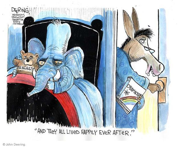 John Deering  John Deering's Editorial Cartoons 2014-04-04 insurance policy