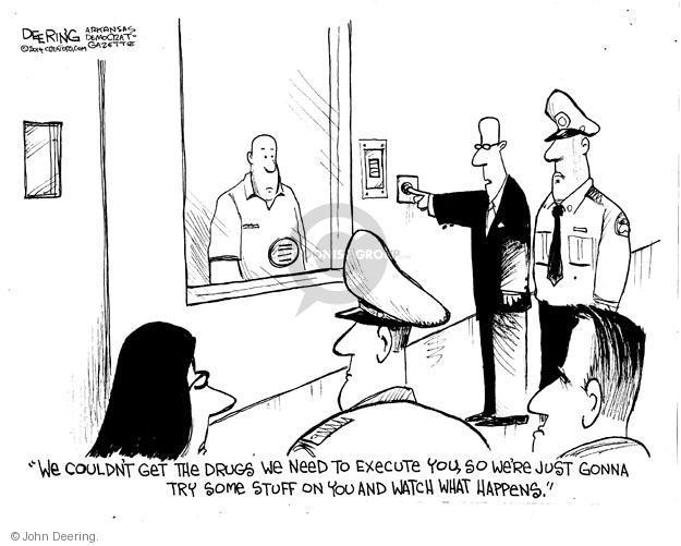 John Deering  John Deering's Editorial Cartoons 2014-05-03 execution