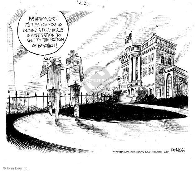 John Deering  John Deering's Editorial Cartoons 2014-05-04 president