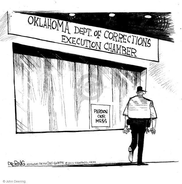 John Deering  John Deering's Editorial Cartoons 2014-05-05 execution