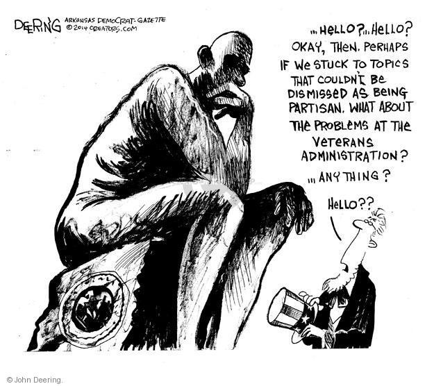 Cartoonist John Deering  John Deering's Editorial Cartoons 2014-05-14 impasse