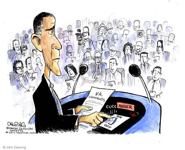 Cartoonist John Deering  John Deering's Editorial Cartoons 2014-05-30 reporter