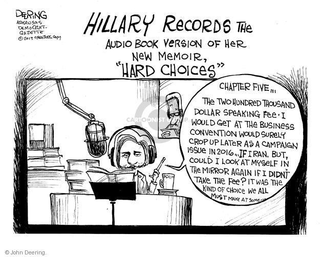 Cartoonist John Deering  John Deering's Editorial Cartoons 2014-05-31 speech