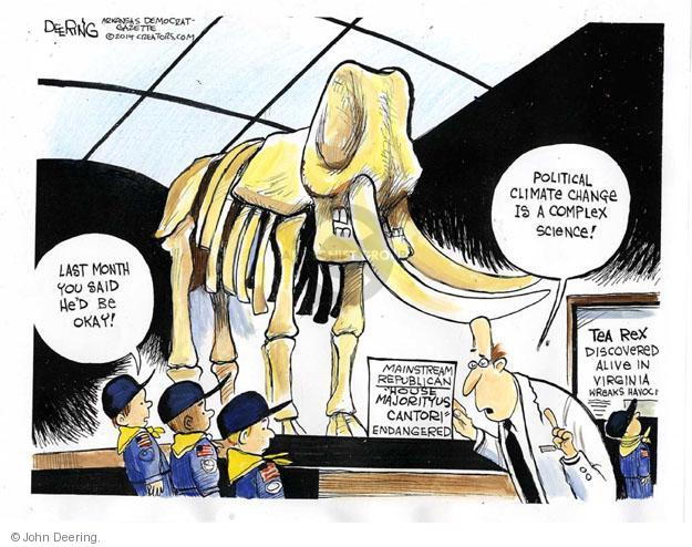 Cartoonist John Deering  John Deering's Editorial Cartoons 2014-06-12 museum