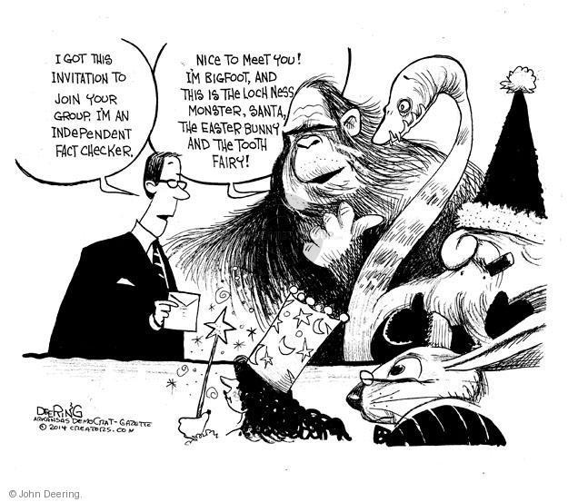 The Loch Ness Monster Editorial Cartoons The Editorial Cartoons