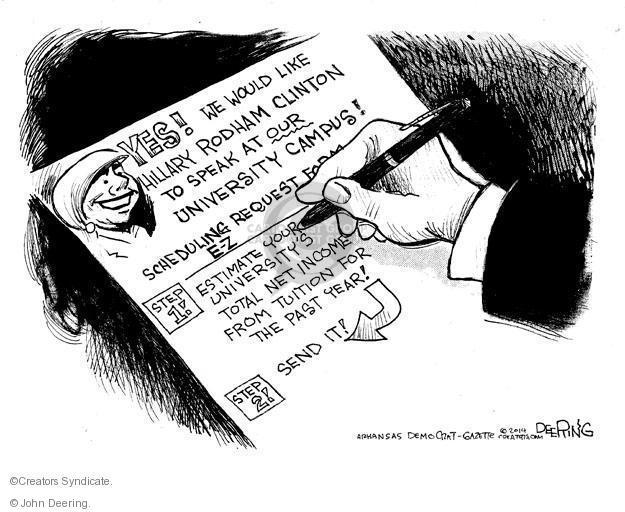 Cartoonist John Deering  John Deering's Editorial Cartoons 2014-07-05 speech