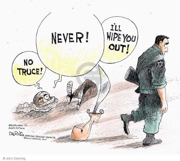 John Deering  John Deering's Editorial Cartoons 2014-07-18 Israel