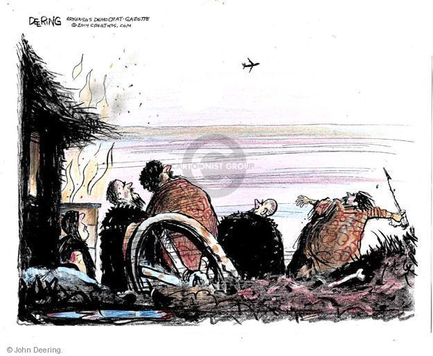 Cartoonist John Deering  John Deering's Editorial Cartoons 2014-07-19 airline