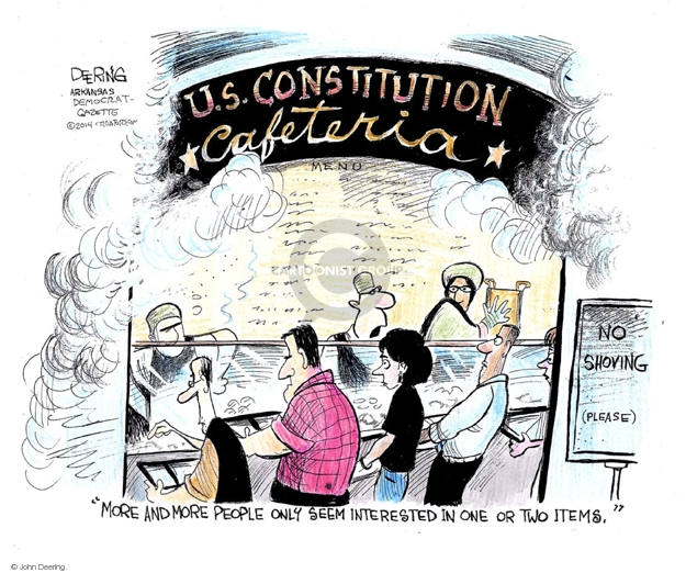 John Deering  John Deering's Editorial Cartoons 2014-07-21 Bill of Rights