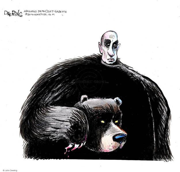 Cartoonist John Deering  John Deering's Editorial Cartoons 2014-07-26 leader