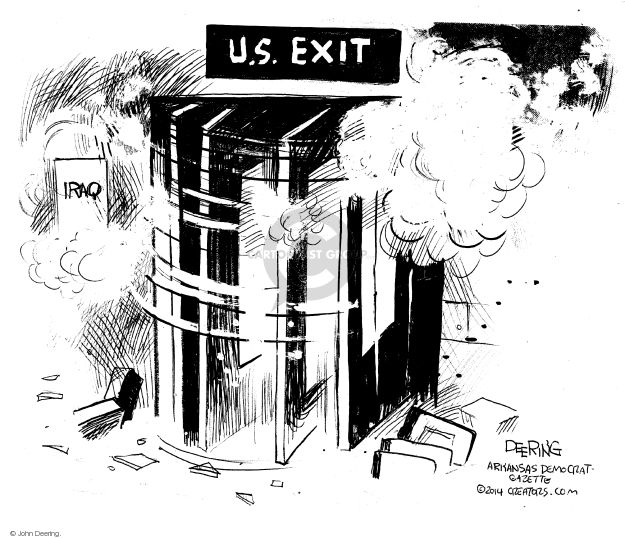 John Deering  John Deering's Editorial Cartoons 2014-08-24 international war