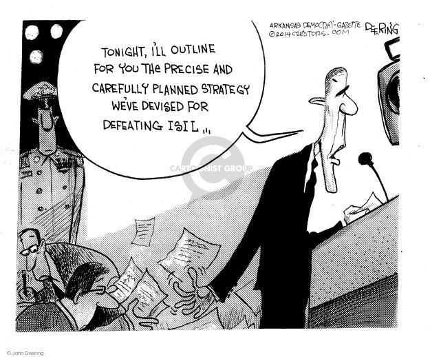 Cartoonist John Deering  John Deering's Editorial Cartoons 2014-09-11 speech