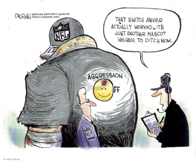 Cartoonist John Deering  John Deering's Editorial Cartoons 2014-09-22 league