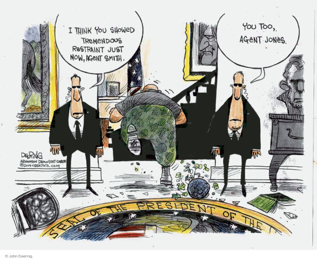 John Deering  John Deering's Editorial Cartoons 2014-10-02 think