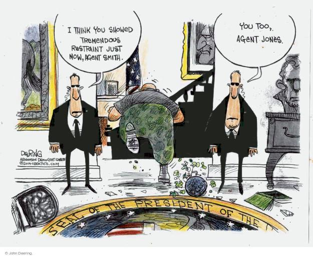Cartoonist John Deering  John Deering's Editorial Cartoons 2014-10-02 secret