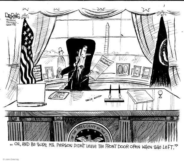 John Deering  John Deering's Editorial Cartoons 2014-10-03 president