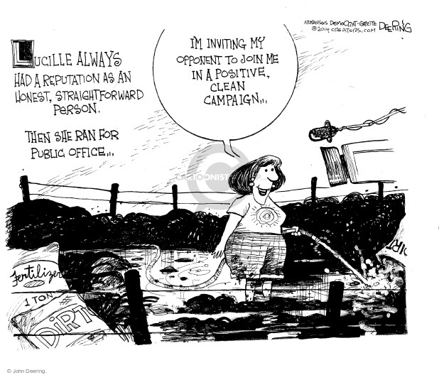John Deering  John Deering's Editorial Cartoons 2014-10-12 office