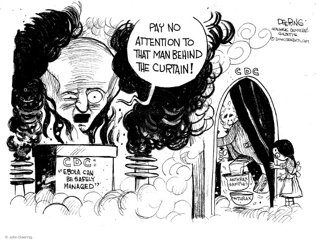Cartoonist John Deering  John Deering's Editorial Cartoons 2014-10-16 government