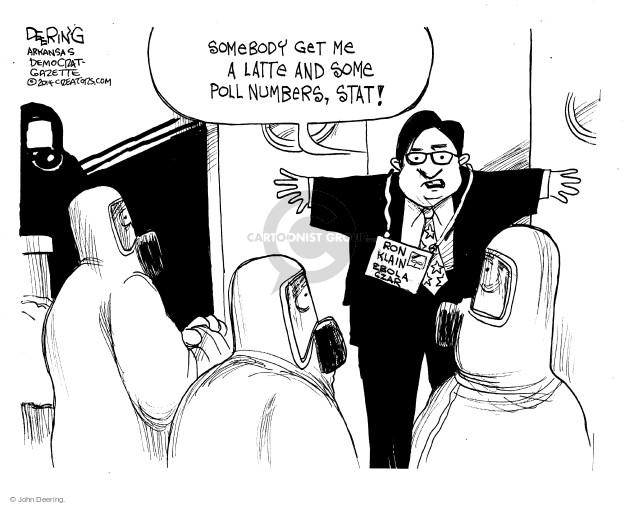 Cartoonist John Deering  John Deering's Editorial Cartoons 2014-10-19 staff