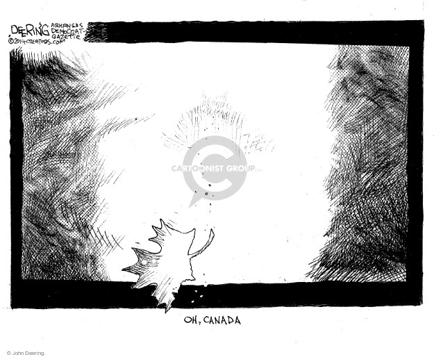 Cartoonist John Deering  John Deering's Editorial Cartoons 2014-10-23 Michael