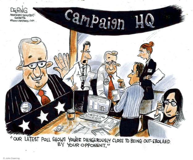 Cartoonist John Deering  John Deering's Editorial Cartoons 2014-10-31 issue