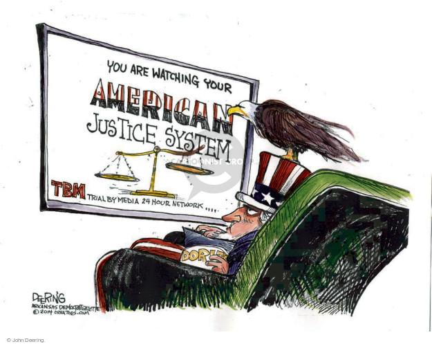 Cartoonist John Deering  John Deering's Editorial Cartoons 2014-11-24 reporter