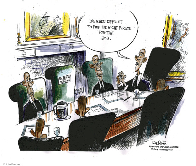 Cartoonist John Deering  John Deering's Editorial Cartoons 2014-11-28 force