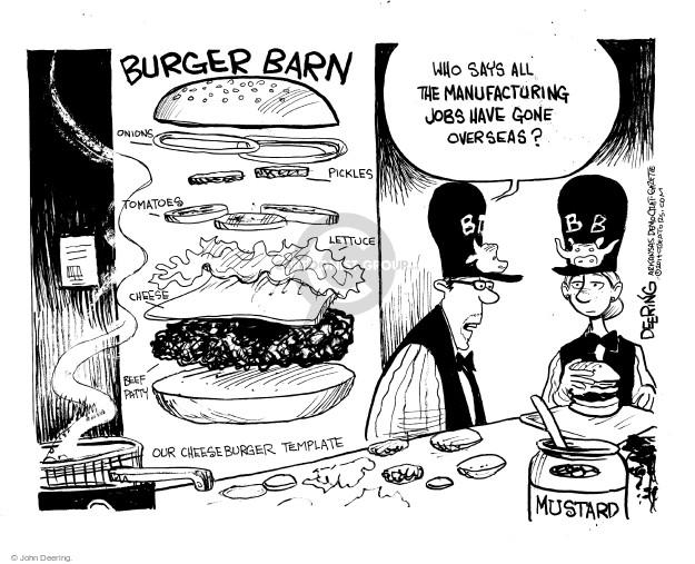 Cartoonist John Deering  John Deering's Editorial Cartoons 2014-12-09 worker
