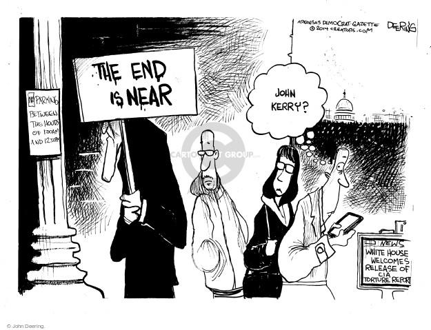 Cartoonist John Deering  John Deering's Editorial Cartoons 2014-12-10 Bush administration