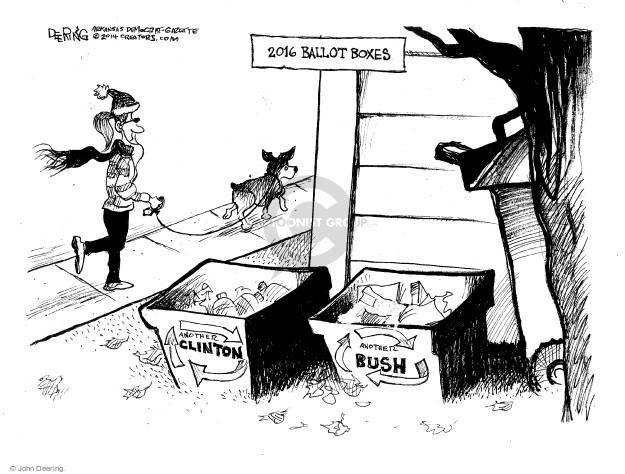 Cartoonist John Deering  John Deering's Editorial Cartoons 2014-12-31 family