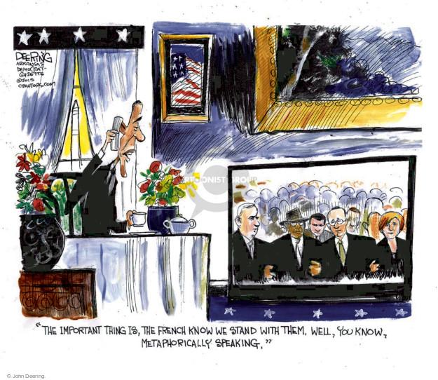 Cartoonist John Deering  John Deering's Editorial Cartoons 2015-01-14 leader