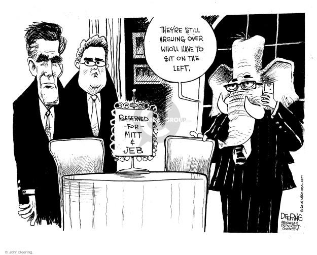 John Deering  John Deering's Editorial Cartoons 2015-01-24 bush
