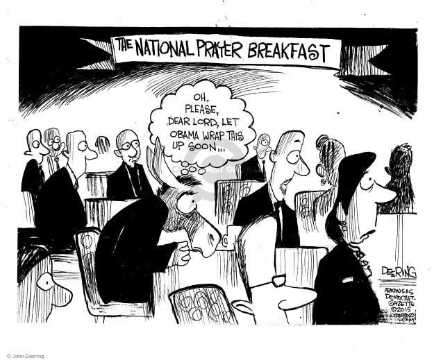 Cartoonist John Deering  John Deering's Editorial Cartoons 2015-02-12 breakfast