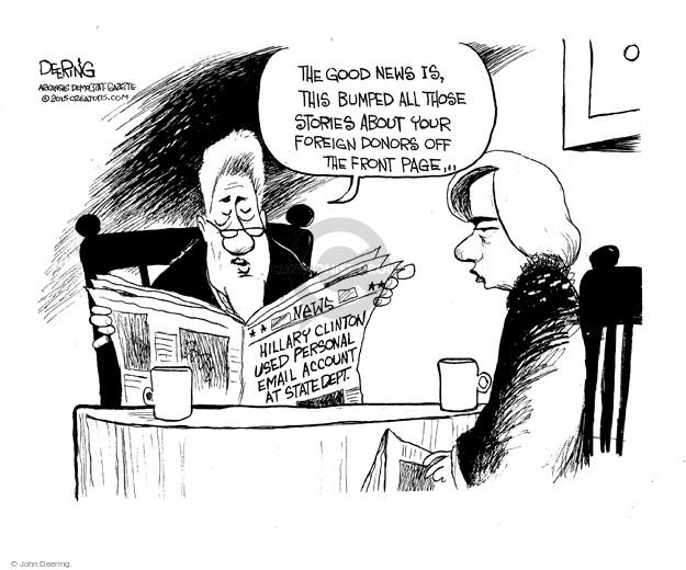 Cartoonist John Deering  John Deering's Editorial Cartoons 2015-03-05 government