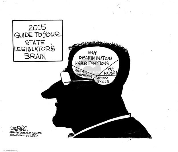 John Deering  John Deering's Editorial Cartoons 2015-03-09 state politician