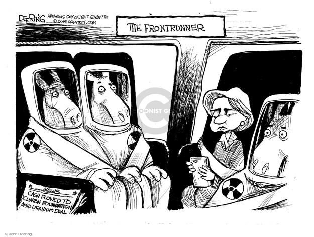 Cartoonist John Deering  John Deering's Editorial Cartoons 2015-04-26 uranium